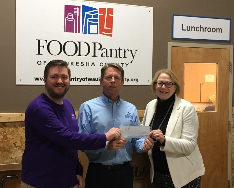 Badgerland Pressure Cleaning sponsoring Food Pantry in Waukesha