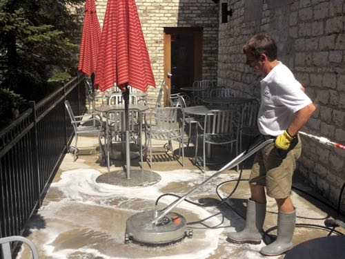Commercial Restaurant Patio Cleaning in Waukesha