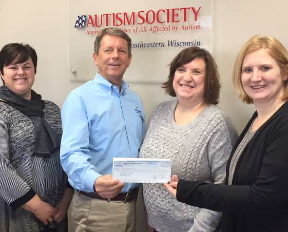 Badgerland Pressure Cleaning sponsoring the Autism Society