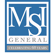 MSI General is a commercial customer of Badgerland Pressure Cleaning