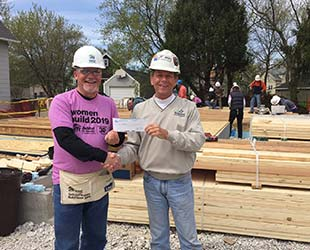 Badgerland Pressure Cleaning sponsors Habitat for Humanity of Waukesha County