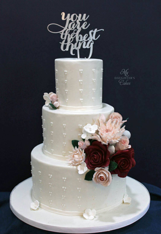 Beautiful weddings cakes in New Jersey