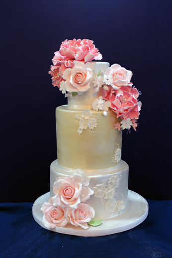 Best Engagement Cakes New Jersey by My Daughter's Cakes