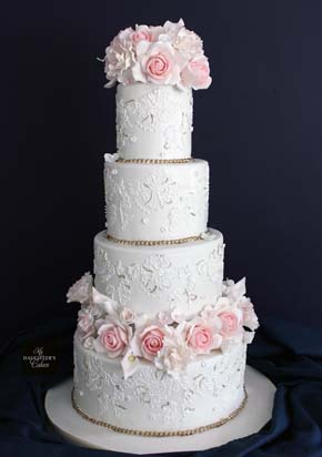 Lace Wedding Cakes