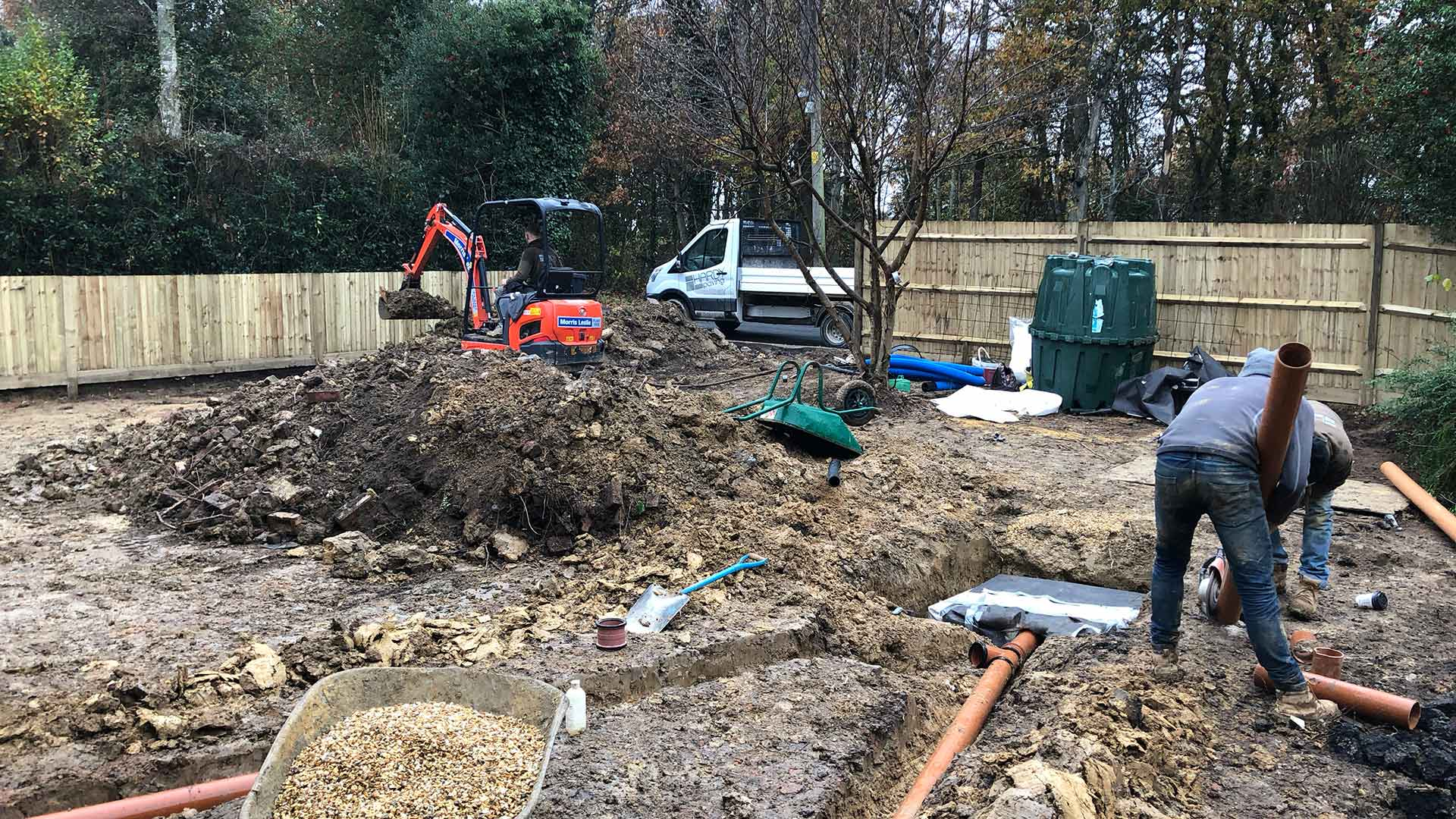Groundworks and Soakaways Hardy Paving Sussex