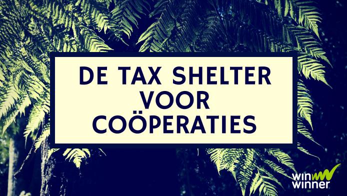 Gebruik nu de tax shelter voor coöperaties!