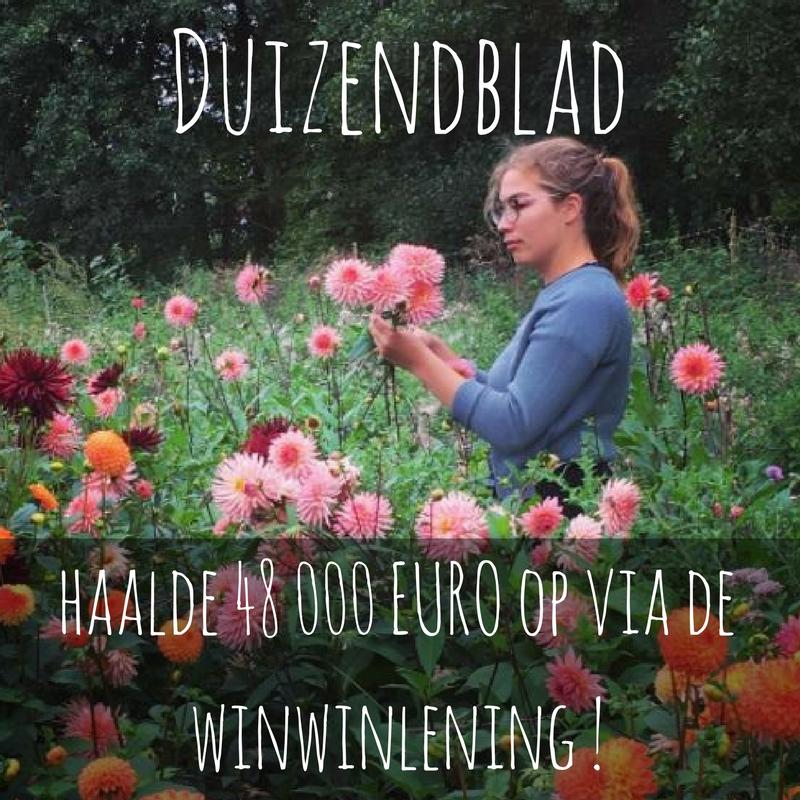Duizendblad haalt 48 000 euro op via de winwinlening!