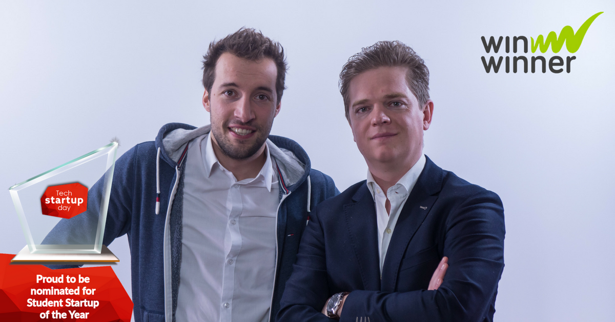 Stem op WinWinner als Student Startup of the year.