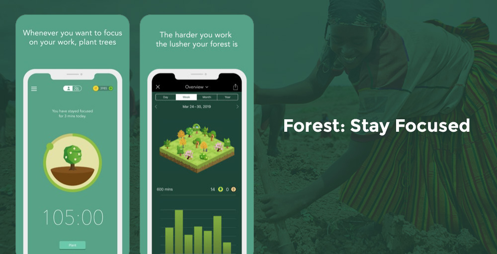 Forest App: Stay Focused