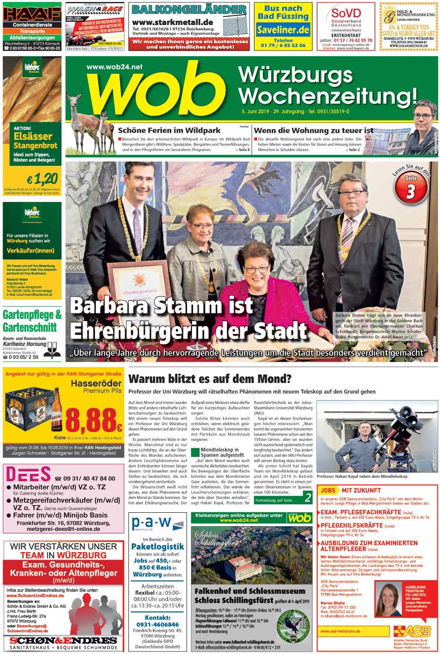 Würzburger Wochenblatt