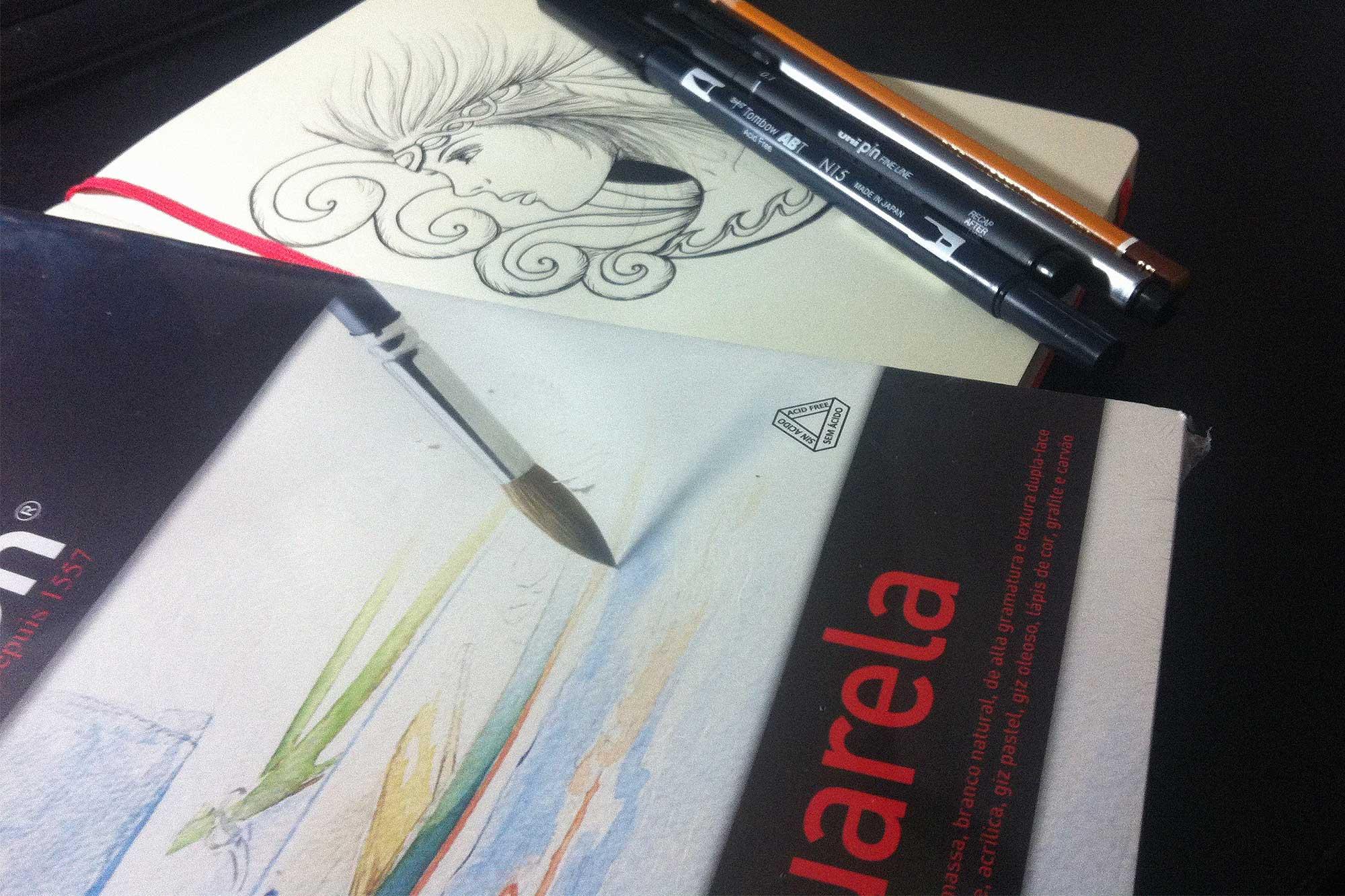 Blog Dicas De Materiais Para Começar A Desenhar
