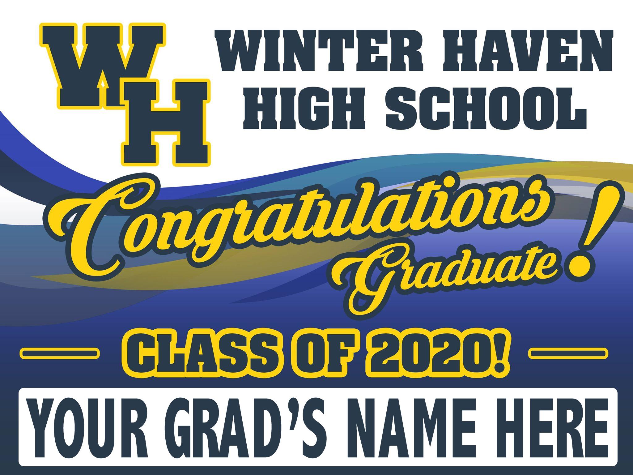 Polk County Class Of 2020 Graduate Yard Signs