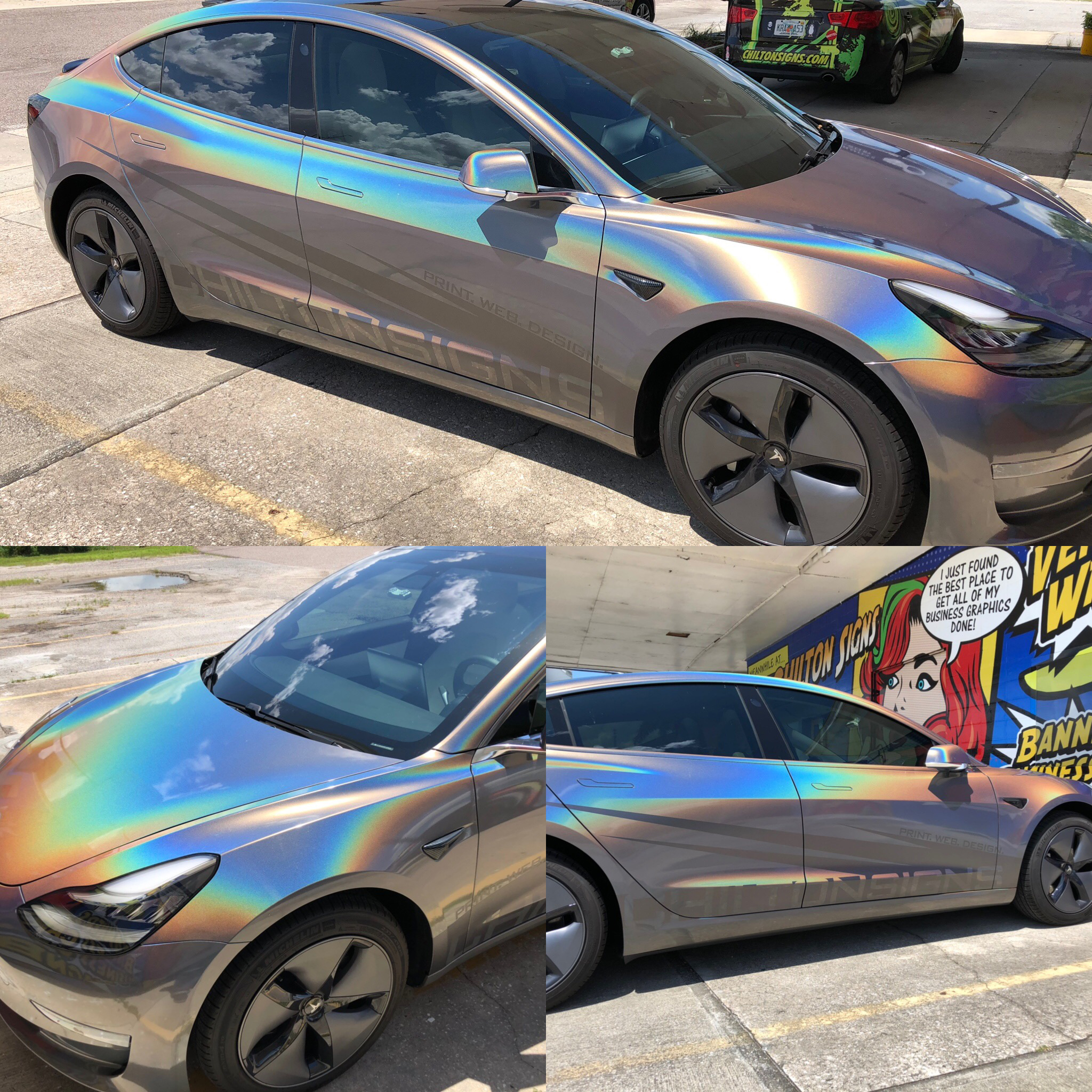 Ride In Style 3M Colorchange Wraps