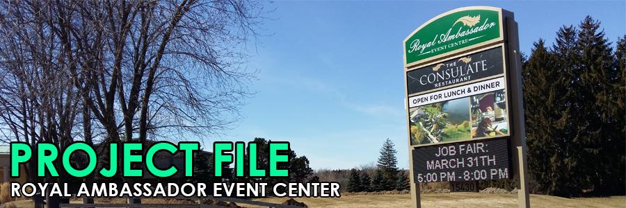 Project File: Royal Ambassador Event Centre