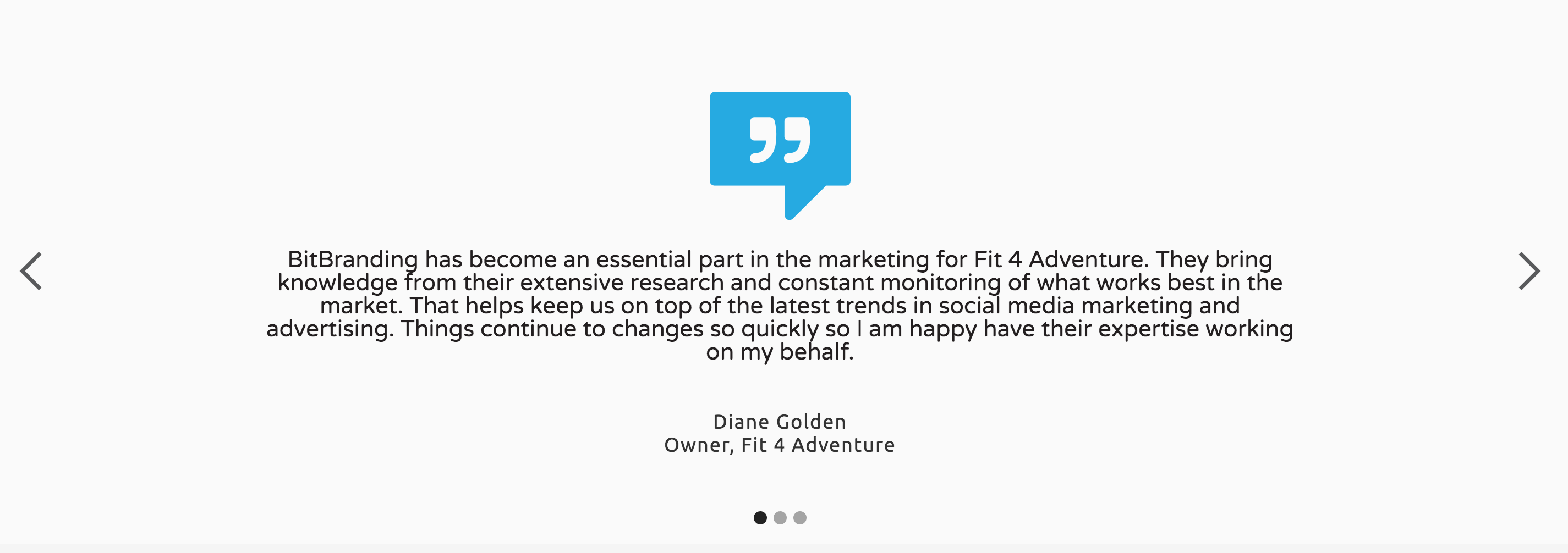 Fit 4 Adventure client testimonial