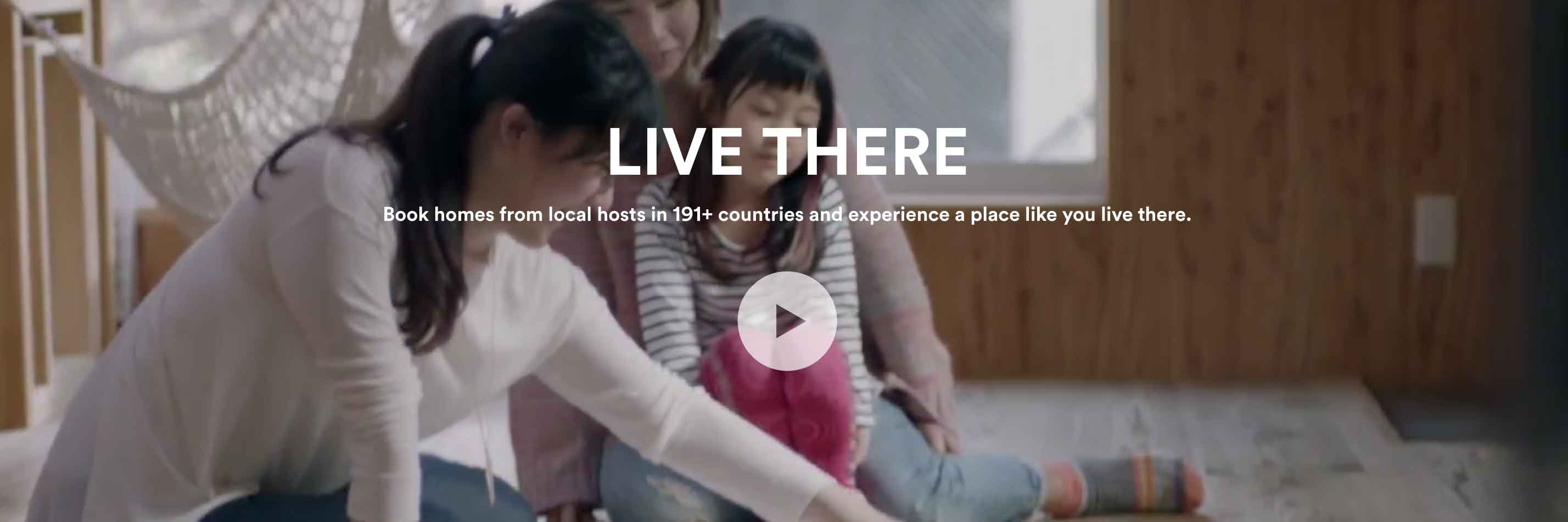 Airbnb Home Page Supoorting Image