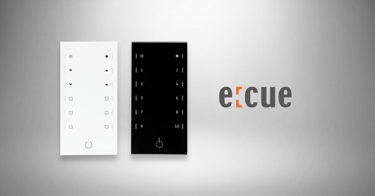 E:CUE Glass Touch T12 - pure intuitive design