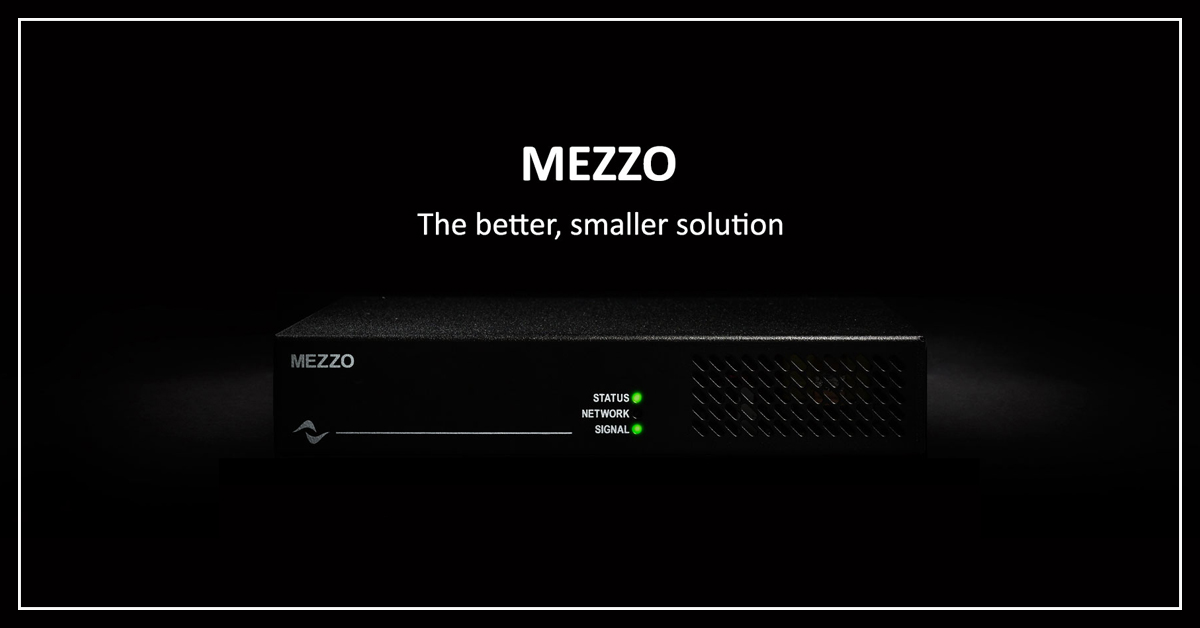 Powersoft unveils MEZZO at Infocomm 2019