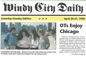 Newspaper from 1996 Annual Conference in Chicago