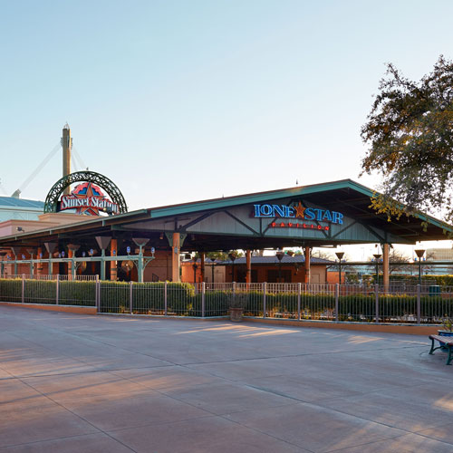 The Lone Star Pavilion Photo