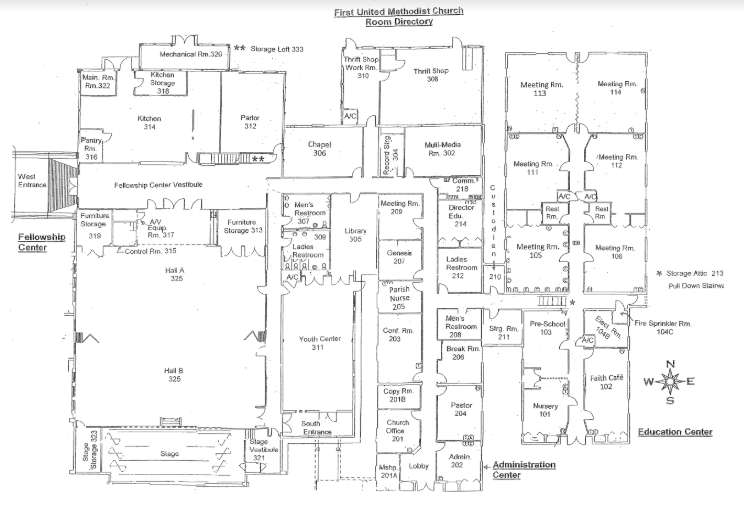 map of First Methodist Church of Homosassa
