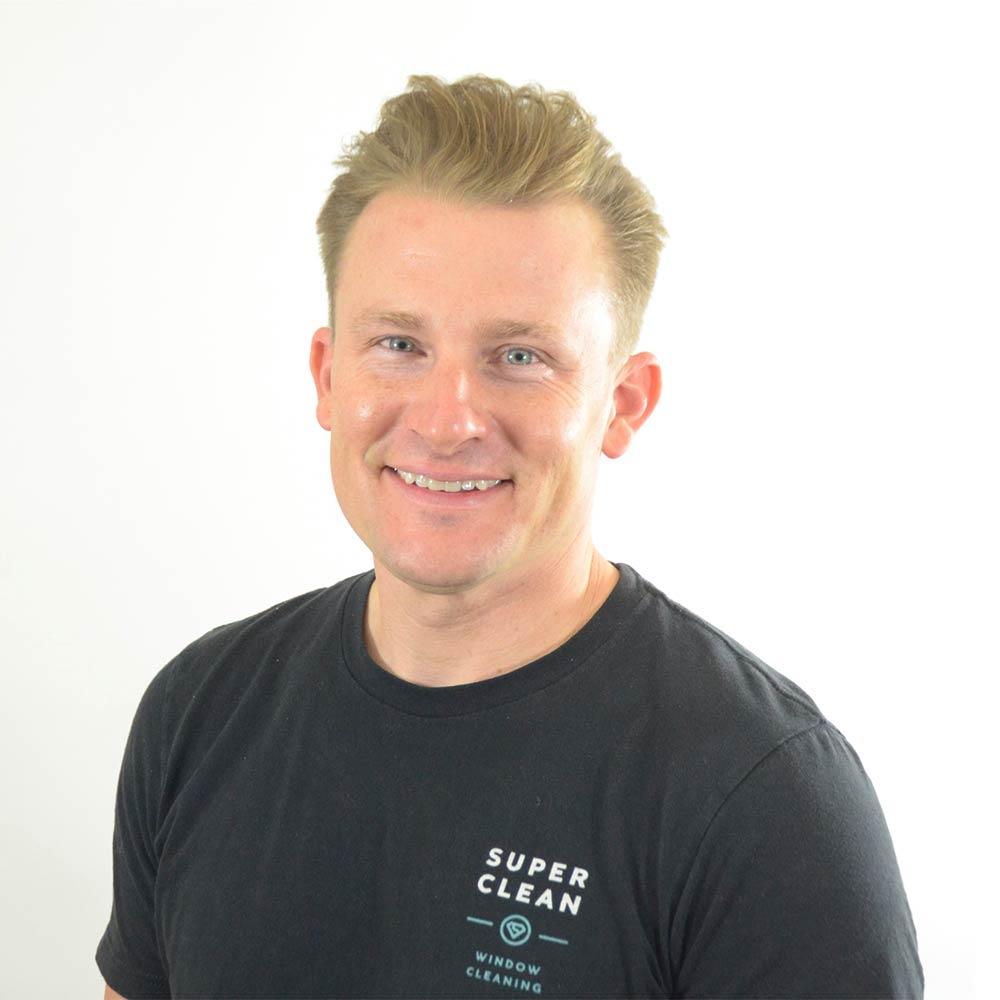 Eric Ehlers, owner of Super Clean