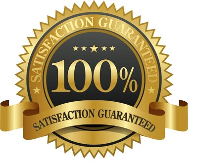 Your satisfaction of your window cleaning is guaranteed