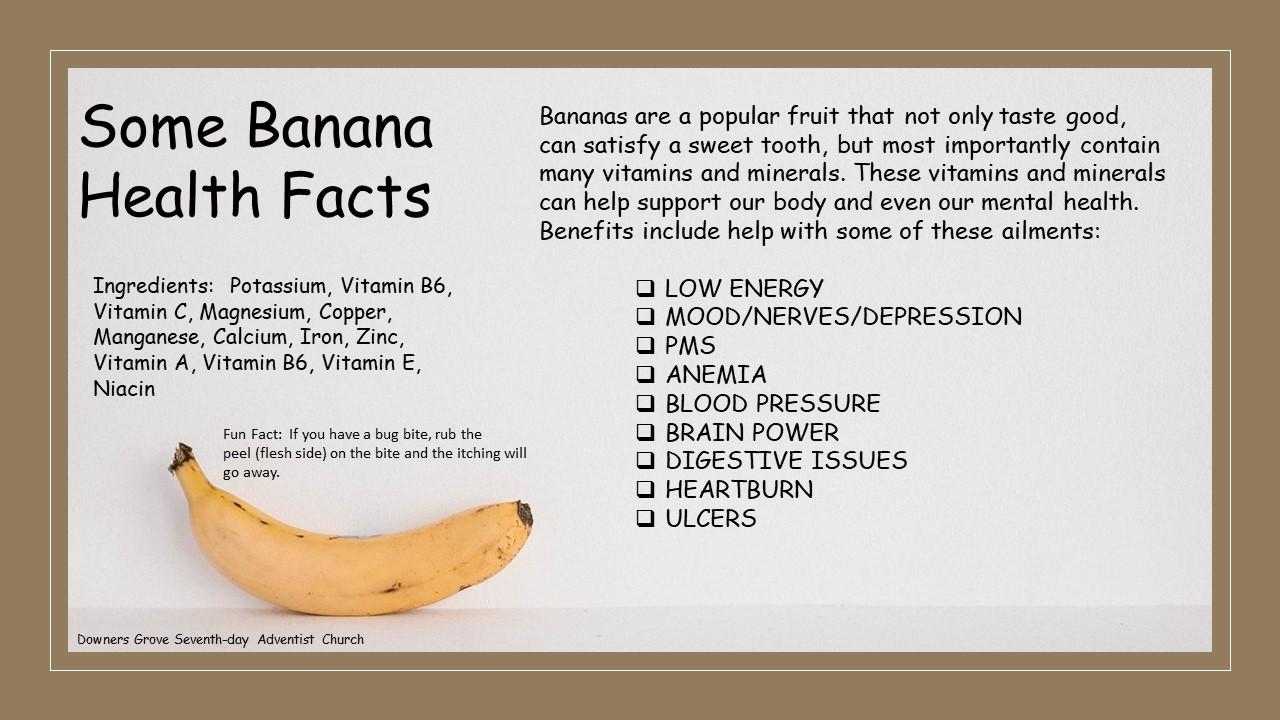 Banana Fun Facts