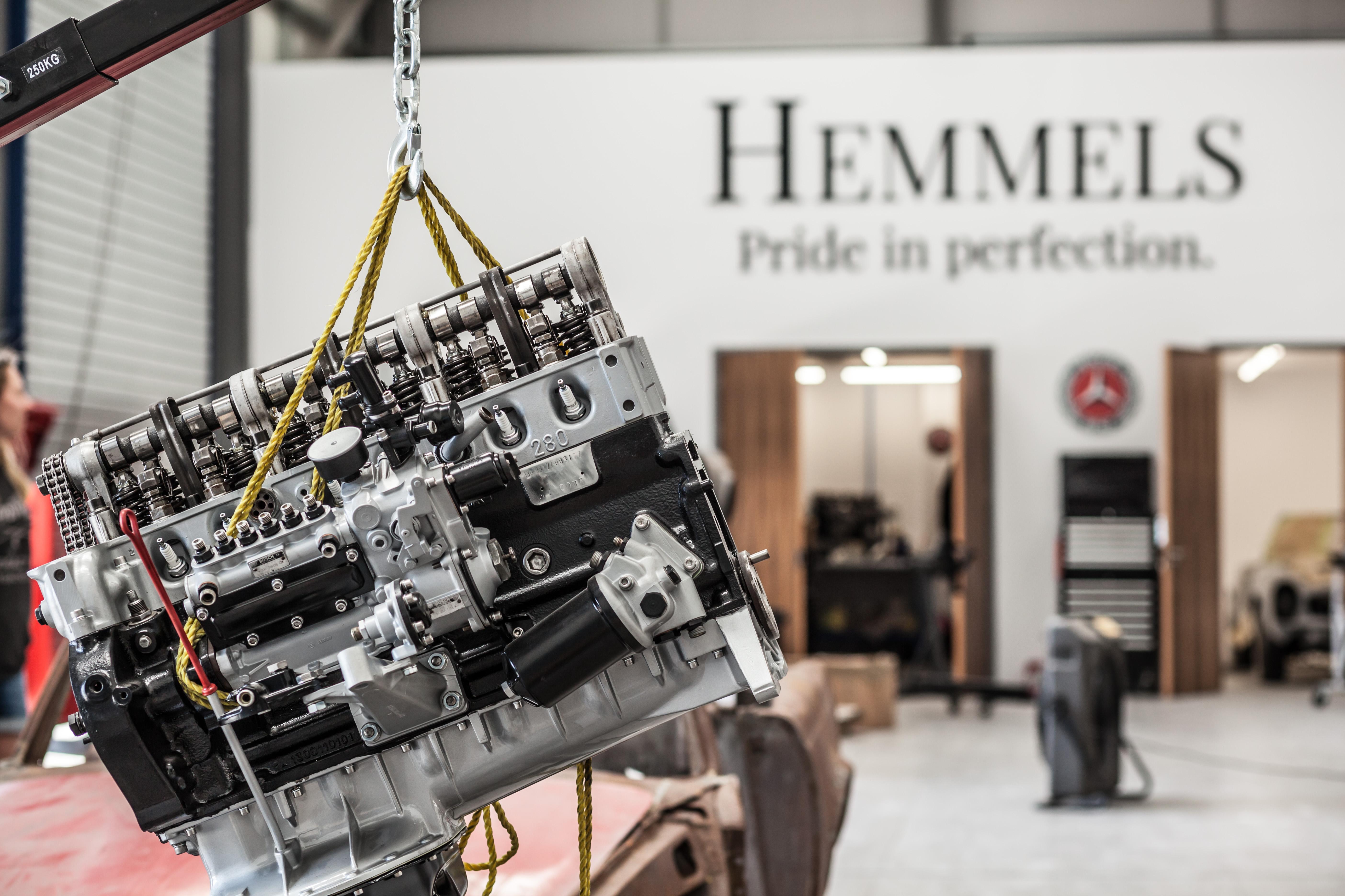 Hemmels Mercedes Classic Horsepower