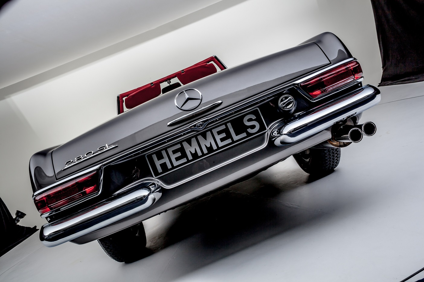 Rear view Mercedes-Benz W113 280SL Pagoda by Hemmels