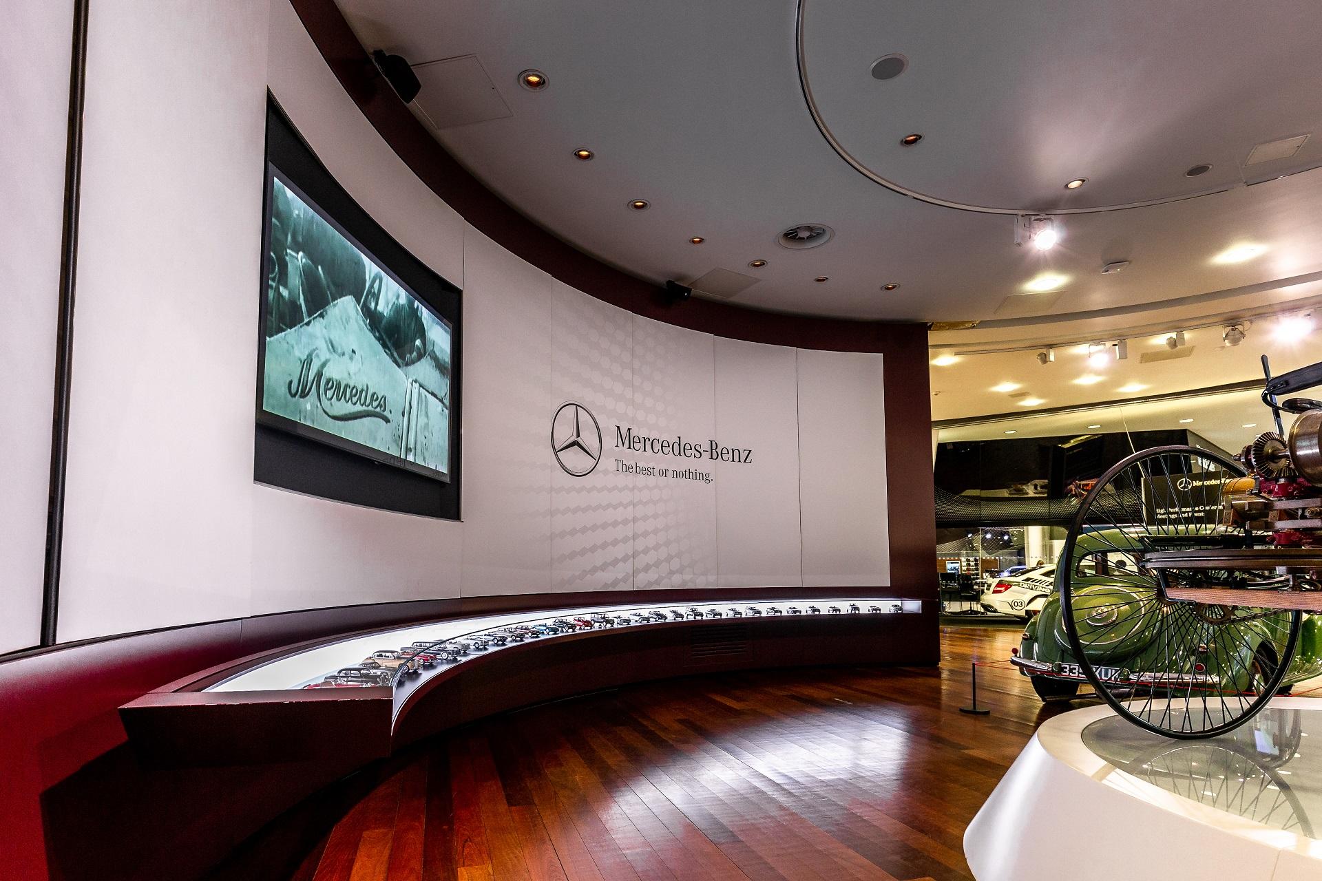 Mercedes Benz World Brooklands