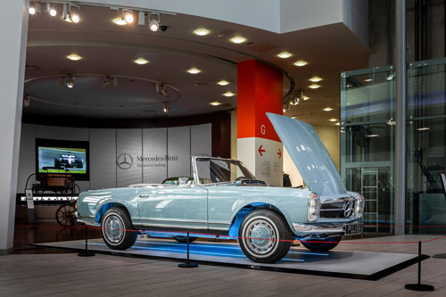 Hemmels Car at Mercedes Benz World W113 280SL  For Sale
