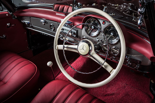 Hemmels Mercedes Classic Service Interior Leather Trim