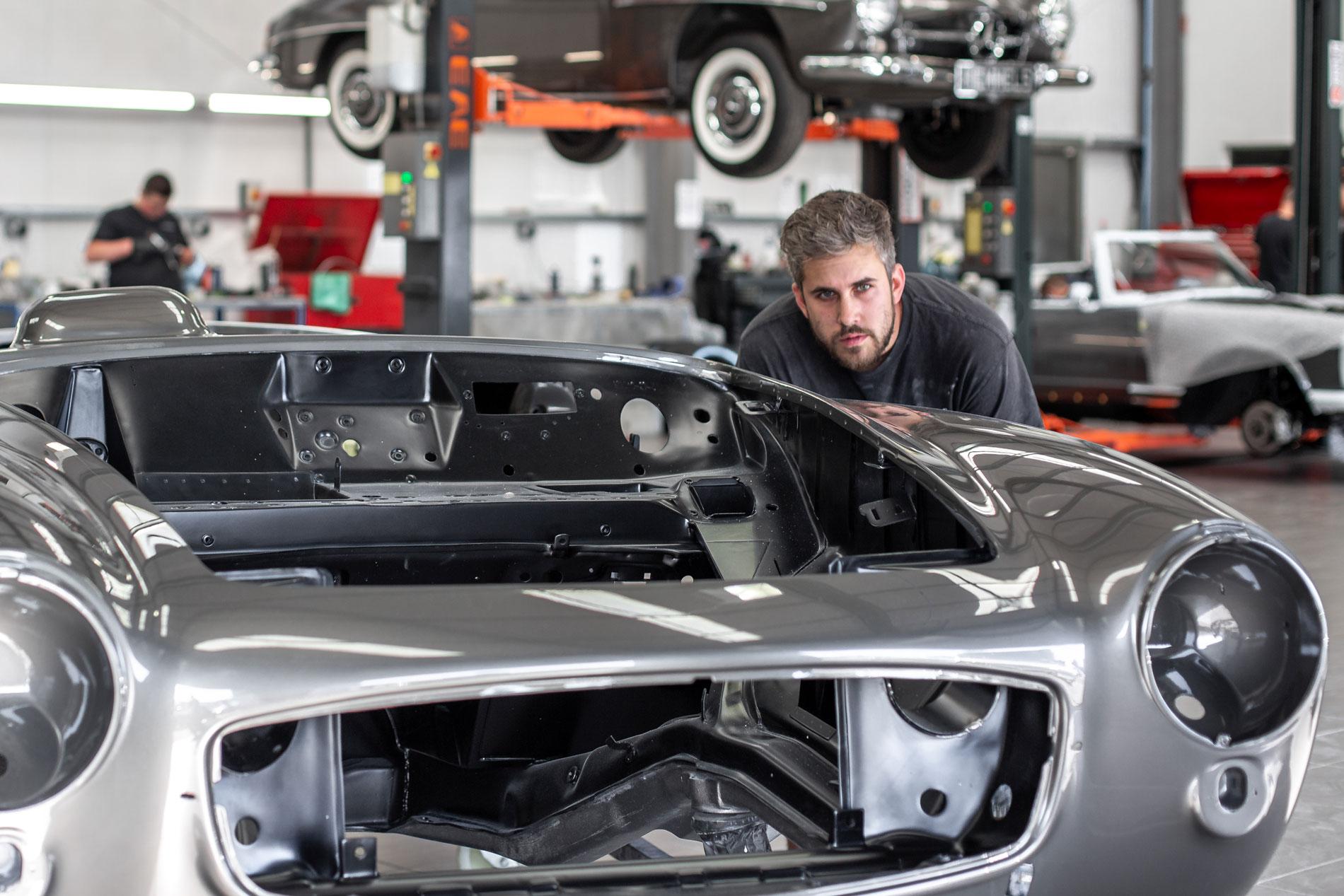 Hemmels Mercedes Classic Service Restoration