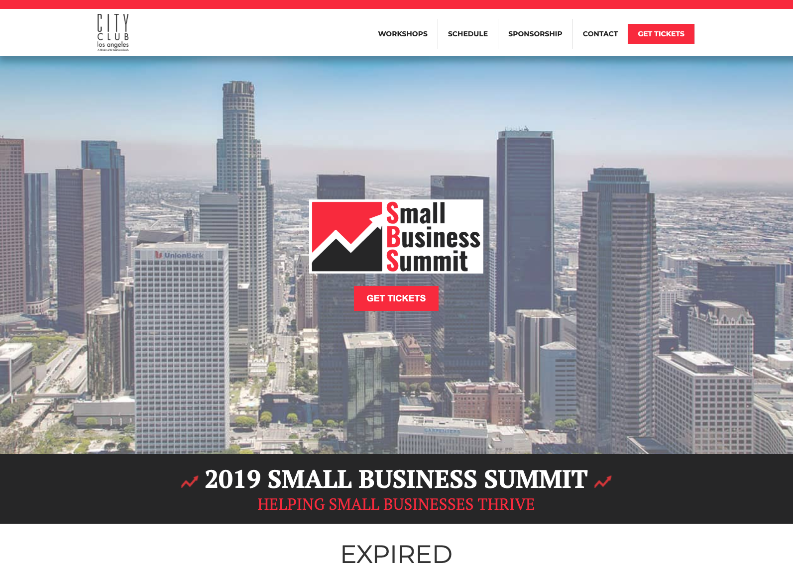 Small Business Summit website