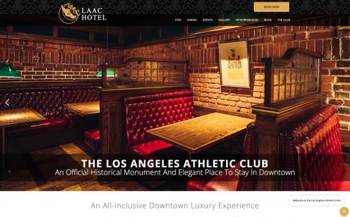 Los Angeles Athletic Club Website