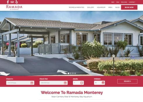 Los Angeles Athletic Club Hotel website