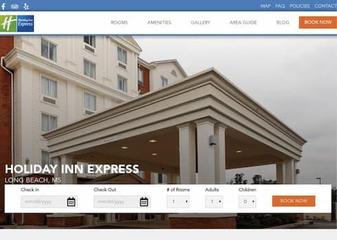 The Inn at Long Beach - Long Beach, MS website