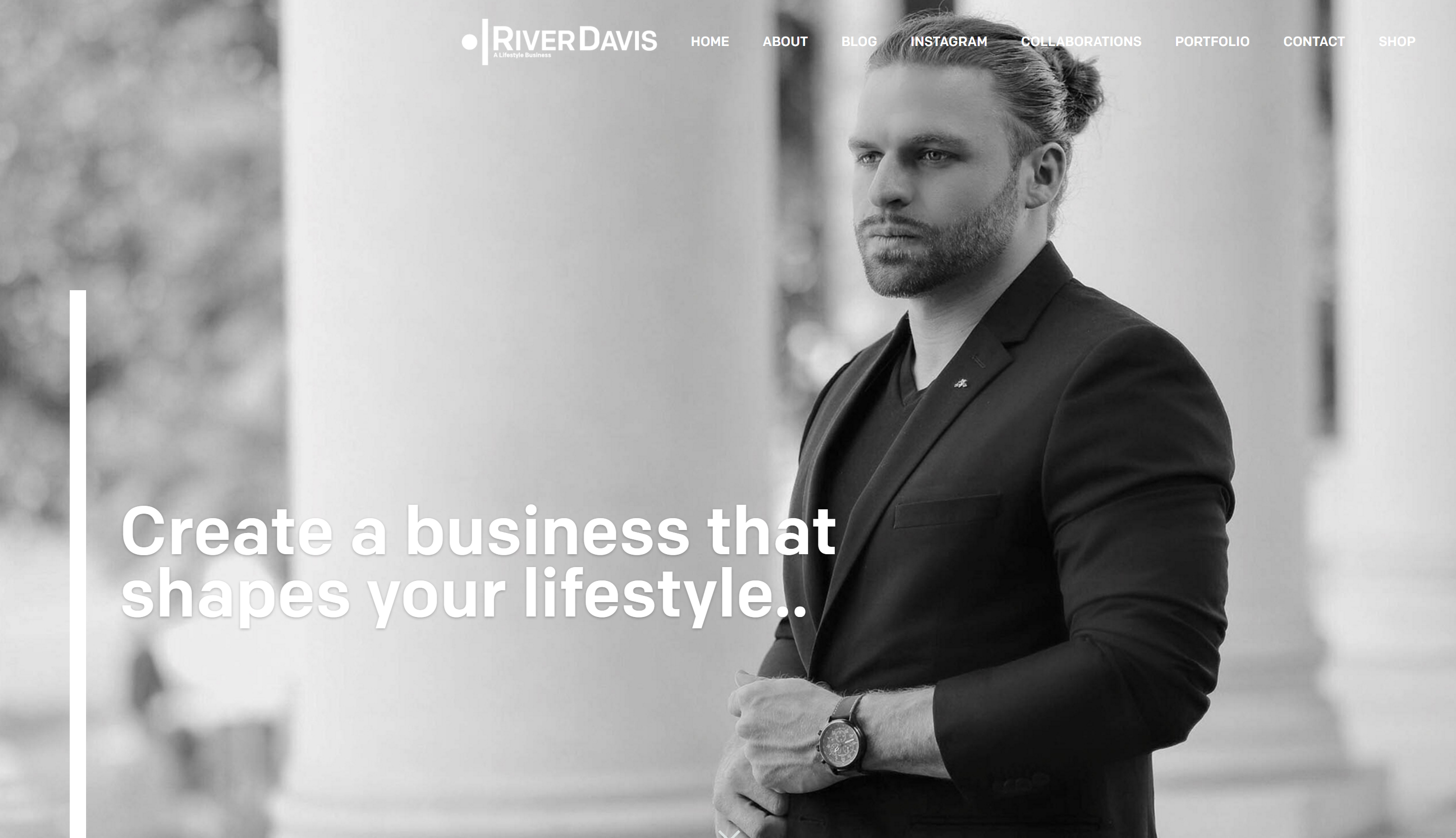 Home Page for River.com A Lifestyle Business