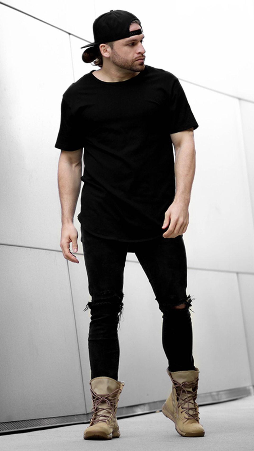 River Davis Men's Fashion All Blvck