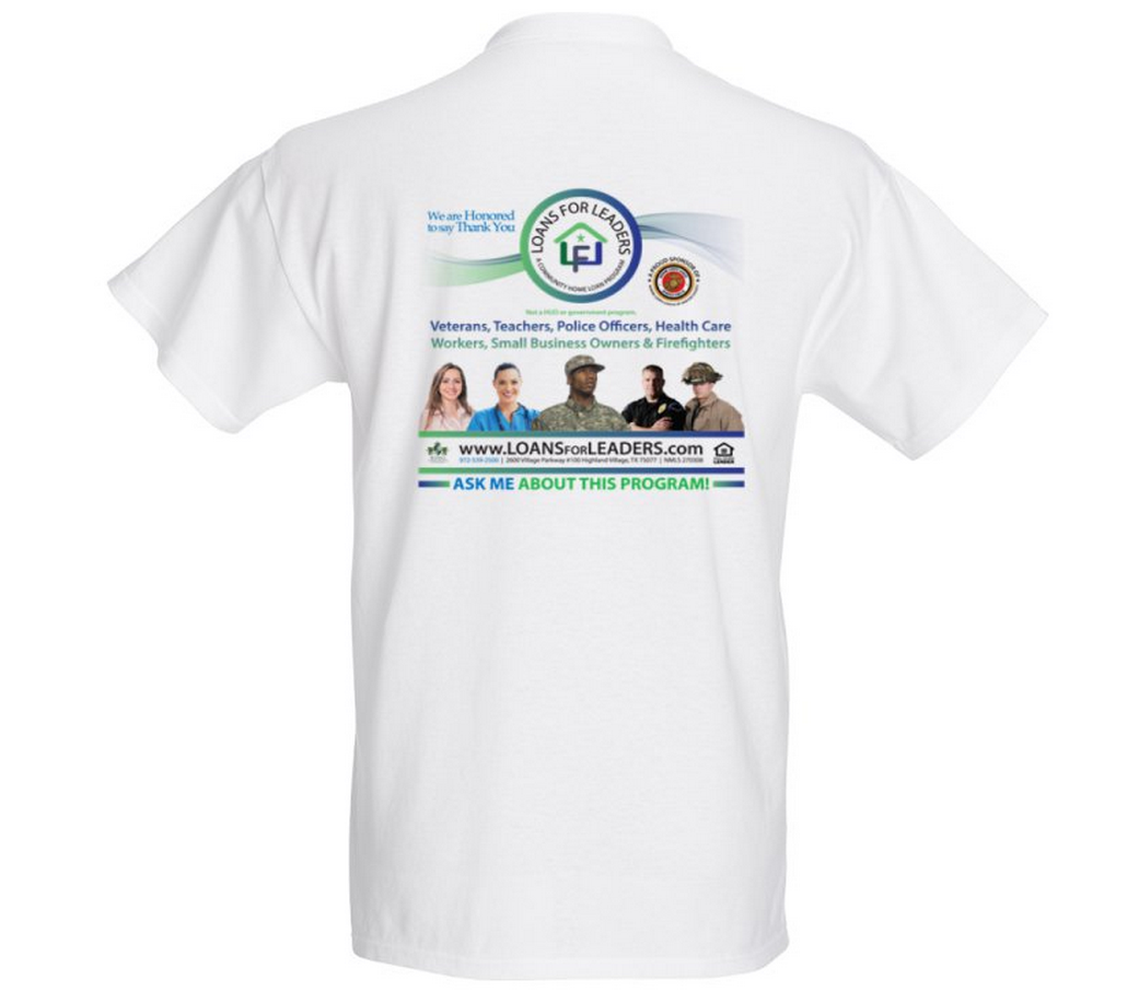 Loans for Leaders Official Tshirt