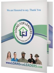 Loans for Leaders Presentation Folder