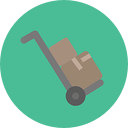 moving dolly icon