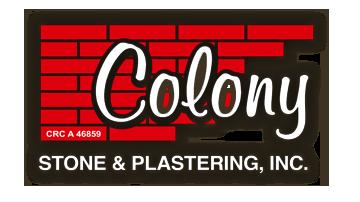 Colony Stone & Stucco logo