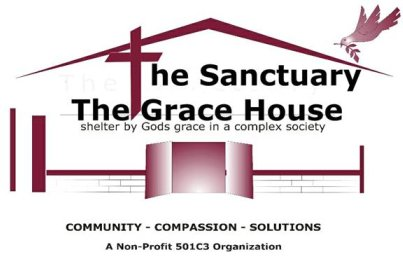 The Sanctuary/ Grace House logo