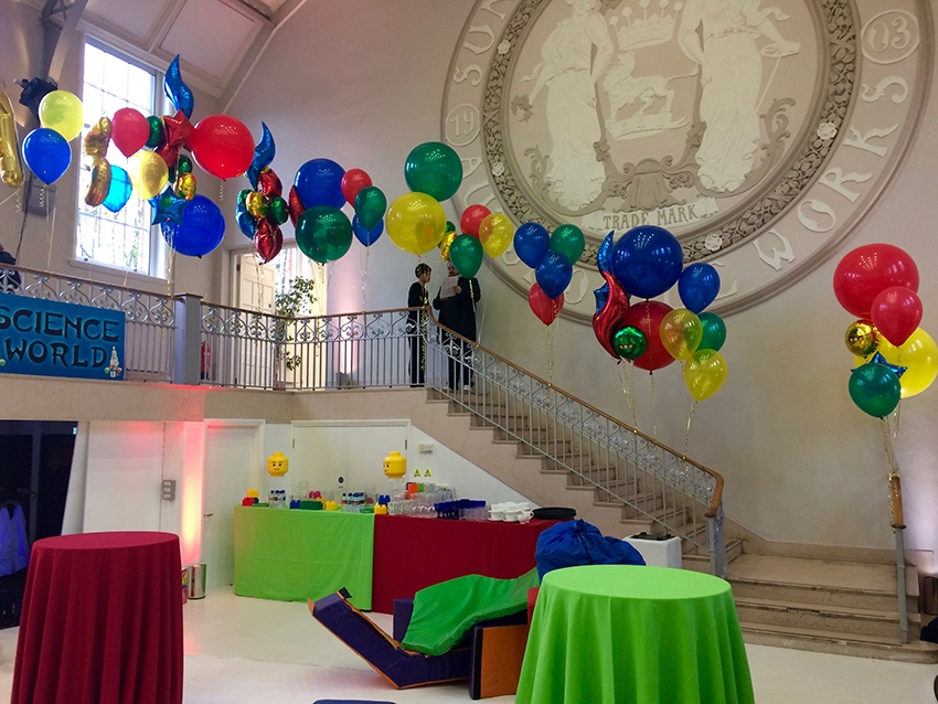 balloon decorations stair show