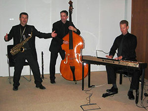 three piece band