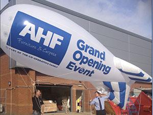 AHF opening blimp