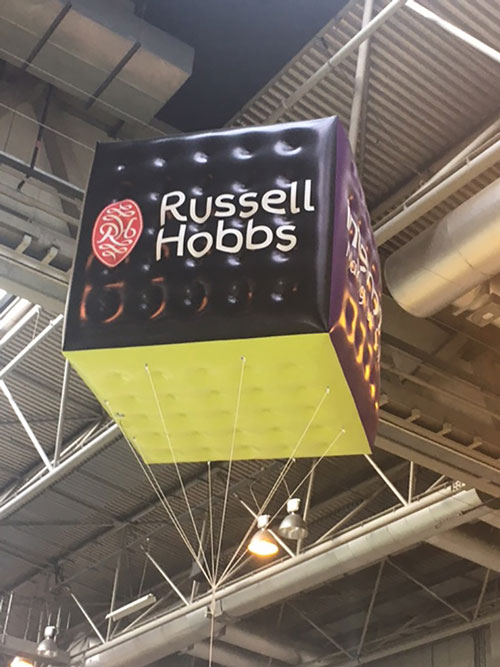 A purple shere balloon for russell hobbs