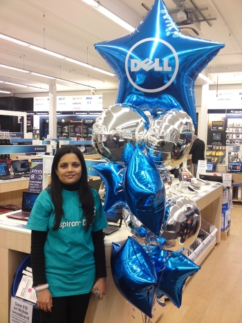 printed dell balloons